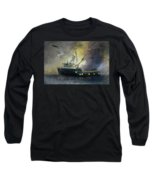 Artic Ice To Sea Long Sleeve T-Shirt