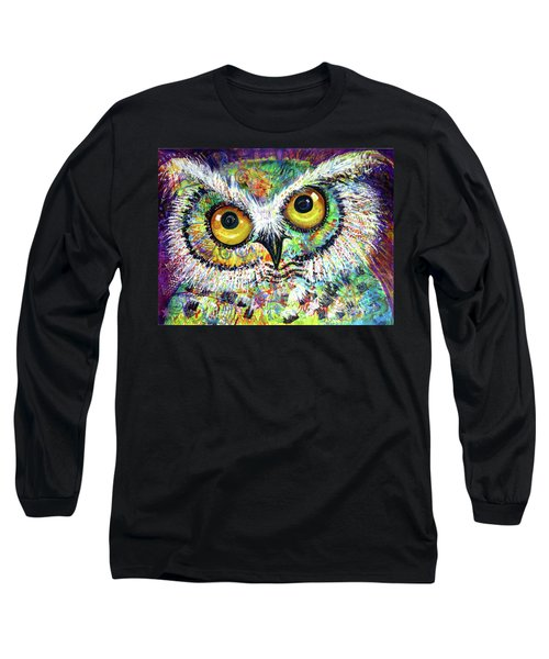 Artprize Hoo's The Artist Audience Participation Long Sleeve T-Shirt
