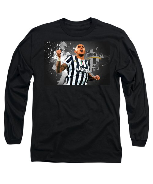 Arturo Vidal Long Sleeve T-Shirt by Semih Yurdabak