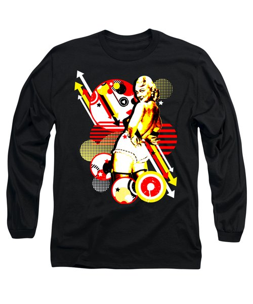 Striptease Long Sleeve T-Shirt by Chris Andruskiewicz