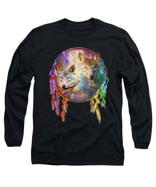 Dream Catcher - Wolf Spirits Long Sleeve T-Shirt