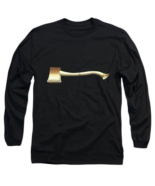 22nd Degree Mason - Knight Of The Royal Axe Masonic Jewel  Long Sleeve T-Shirt by Serge Averbukh