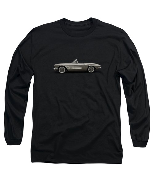Long Sleeve T-Shirt featuring the digital art Vintage Champagne by Douglas Pittman