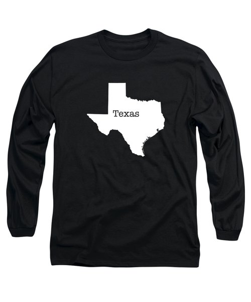 Texas State Long Sleeve T-Shirt by Bruce Stanfield