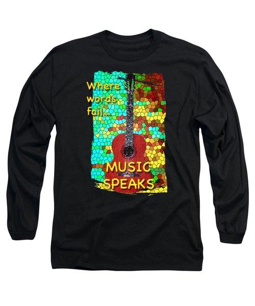 Guitar Fantasy Two Long Sleeve T-Shirt