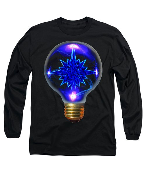 Long Sleeve T-Shirt featuring the photograph A Bright Idea by Shane Bechler