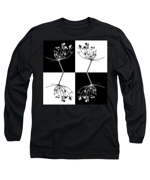 Organic Enhancements 9 Long Sleeve T-Shirt by Paul Davenport