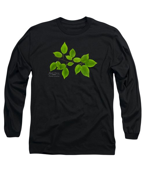 Black Cherry Long Sleeve T-Shirt