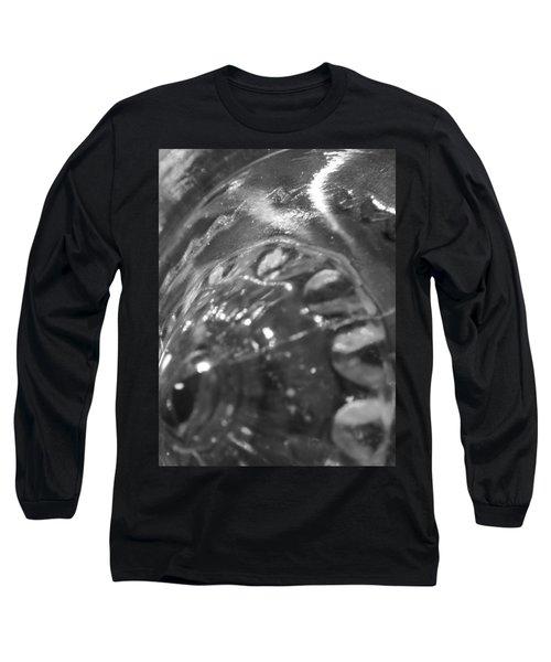 Metallic Glass Long Sleeve T-Shirt by Samantha Thome