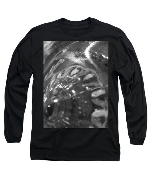 Metallic Glass Long Sleeve T-Shirt