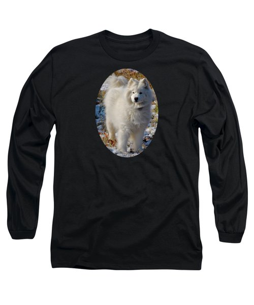 First Snow Long Sleeve T-Shirt by Lois Bryan