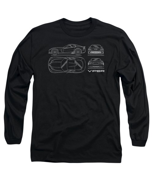 Viper Blueprint Long Sleeve T-Shirt