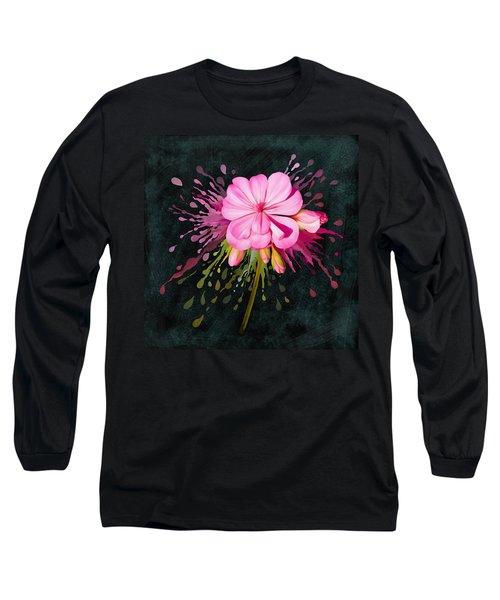 Color Eruption  Long Sleeve T-Shirt