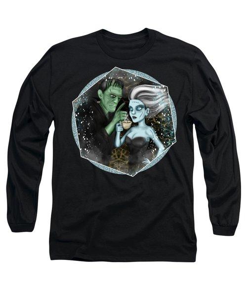 Frankenstien Fantasy Art Long Sleeve T-Shirt