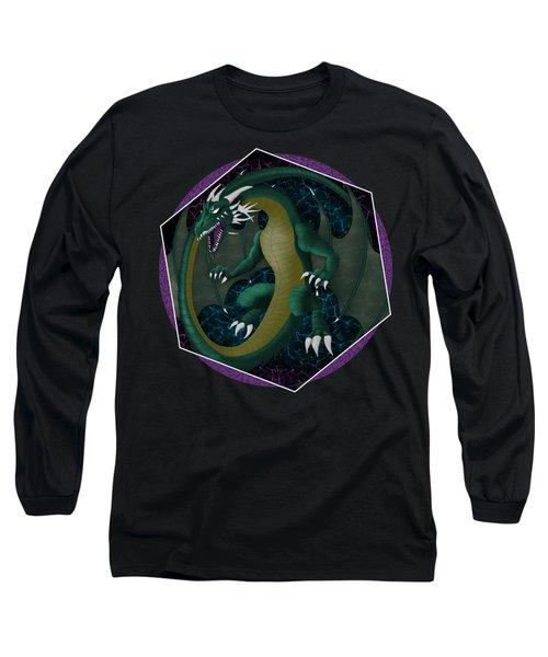 Electric Portal Dragon Long Sleeve T-Shirt