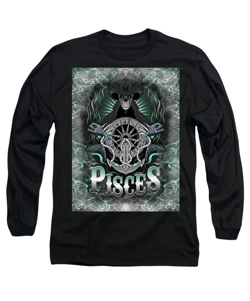 The Fish Pisces Spirit Long Sleeve T-Shirt