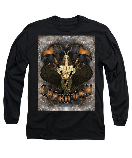 The Goat Capricorn Spirit Long Sleeve T-Shirt