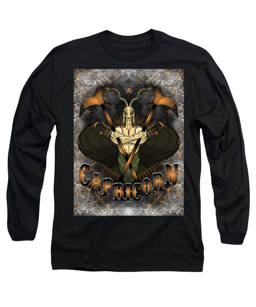 The Goat Capricorn Spirit Long Sleeve T-Shirt