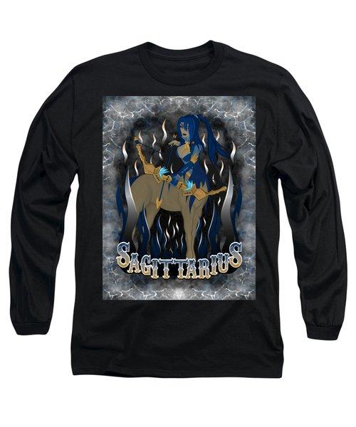 The Archer Sagittarius Spirit Long Sleeve T-Shirt