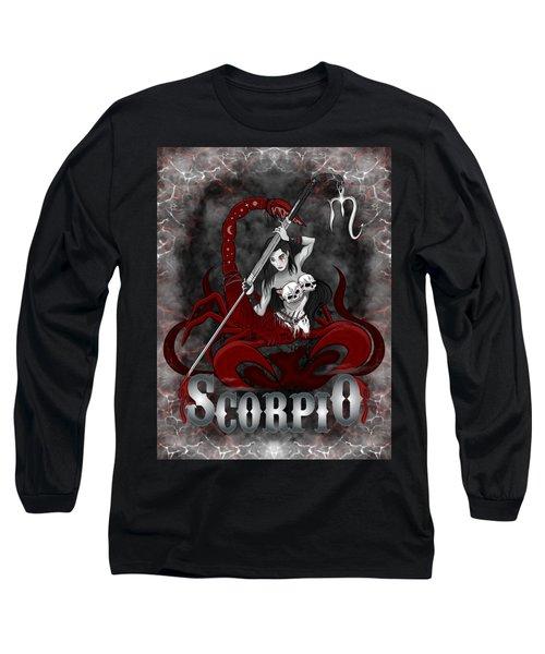 The Scorpion Scorpio Spirit Long Sleeve T-Shirt