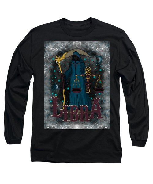 The Scale Libra Spirit Long Sleeve T-Shirt