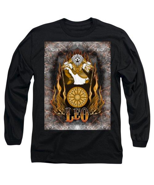 The Lion Leo Spirit Long Sleeve T-Shirt