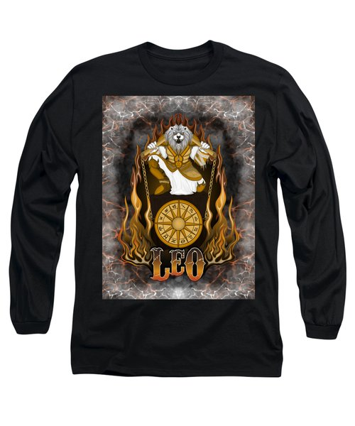 The Lion Leo Spirit Long Sleeve T-Shirt