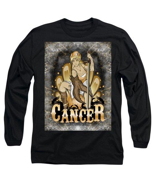 The Crab Cancer Spirit Long Sleeve T-Shirt