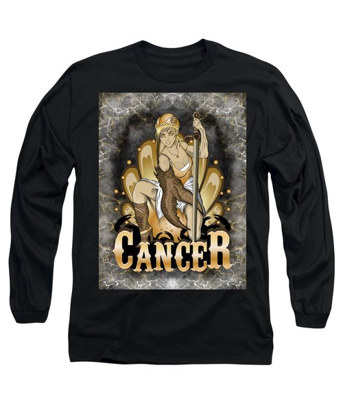 The Crab Cancer Spirit Long Sleeve T-Shirt
