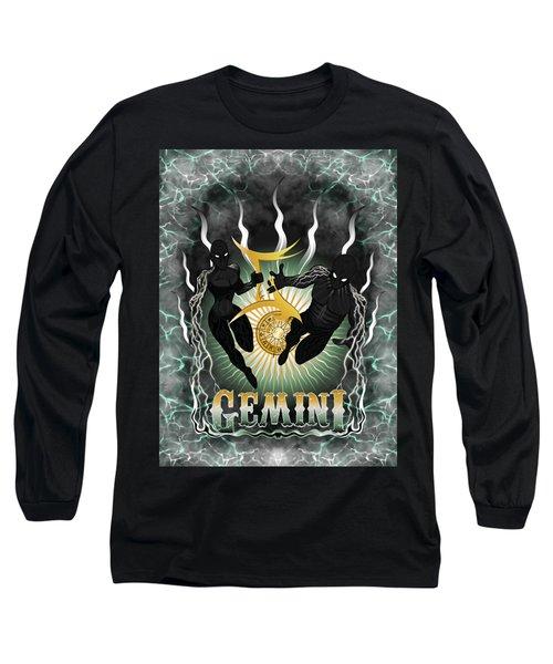 The Twins Gemini Spirits Long Sleeve T-Shirt