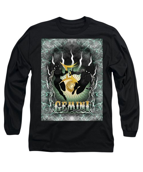 The Twins Gemini Spirits Long Sleeve T-Shirt