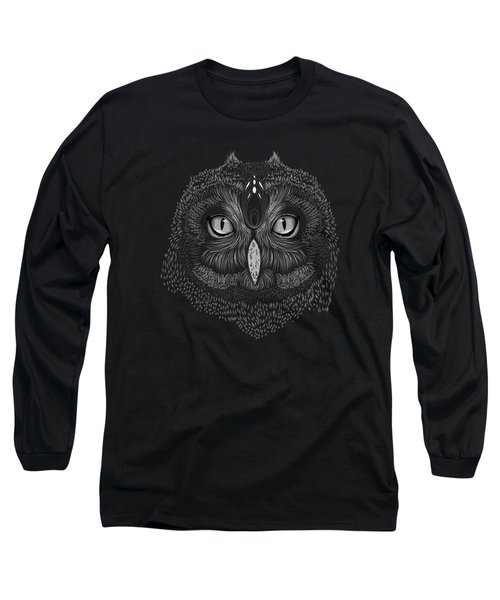 Shaman Spirit Owl Long Sleeve T-Shirt
