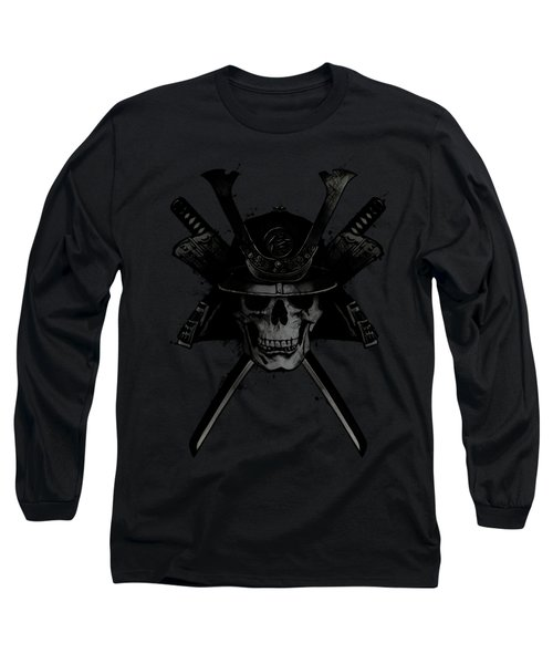 Samurai Skull Long Sleeve T-Shirt