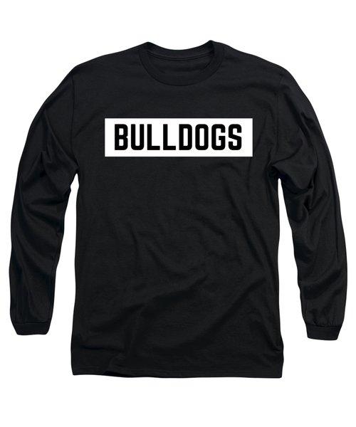 Bulldog Box Long Sleeve T-Shirt