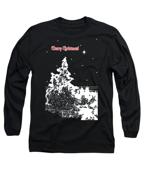 Winter's Night Long Sleeve T-Shirt by Methune Hively