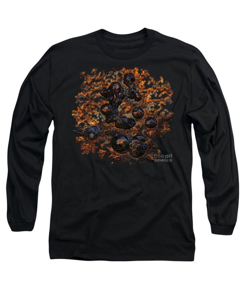 Volcanic Long Sleeve T-Shirt by Sami Tiainen