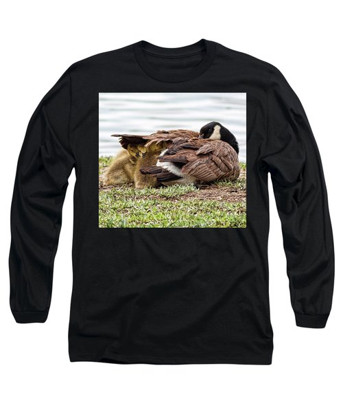 Under Mom's Wing Long Sleeve T-Shirt