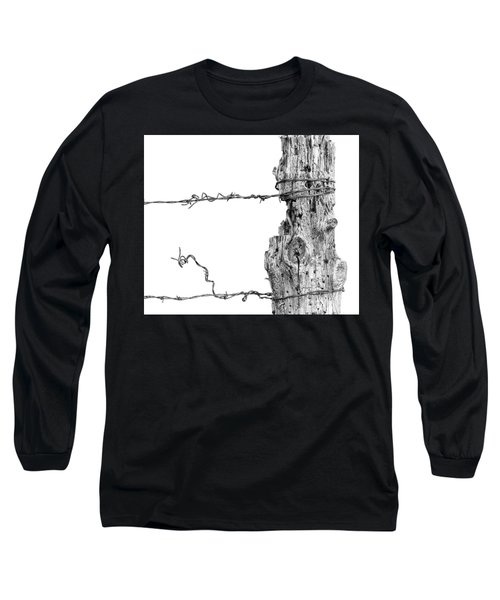 Post With Character Long Sleeve T-Shirt