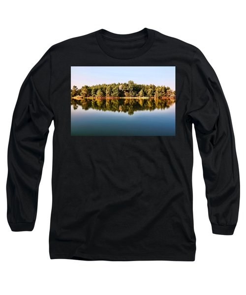 When Nature Reflects Long Sleeve T-Shirt