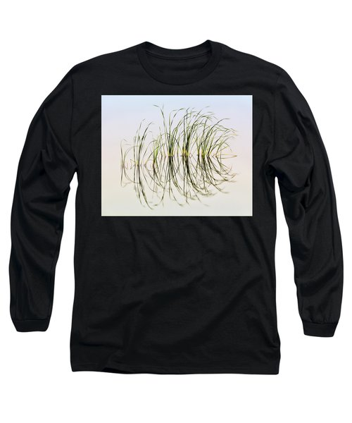 Graceful Grass Long Sleeve T-Shirt by Bill Kesler