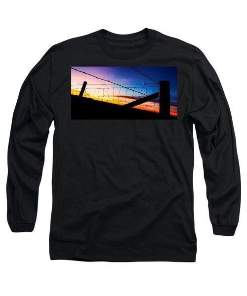 Hilltop Sunset Long Sleeve T-Shirt