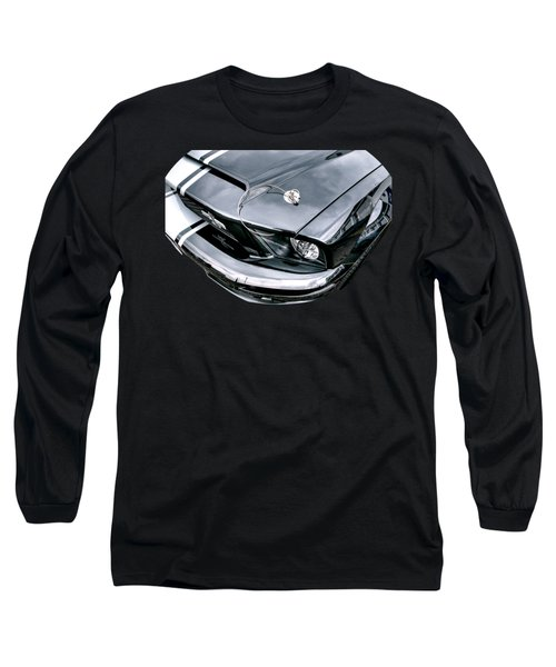 Shelby Super Snake At The Ace Cafe London Long Sleeve T-Shirt by Gill Billington