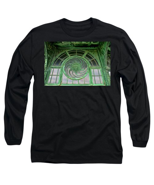 Asbury Carousel Building Details Long Sleeve T-Shirt