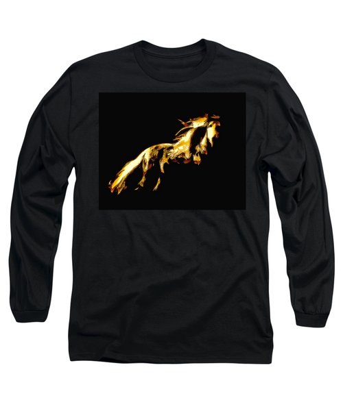 Asian Stallion Long Sleeve T-Shirt