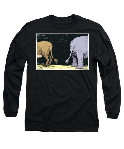 Asses Long Sleeve T-Shirt