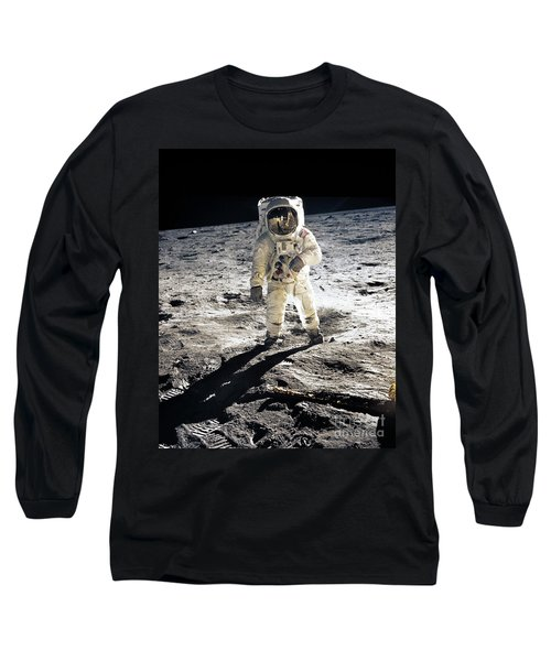 Astronaut Long Sleeve T-Shirt by Photo Researchers