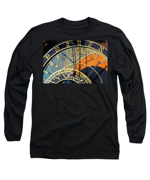 Astronomical Clock Prague Long Sleeve T-Shirt