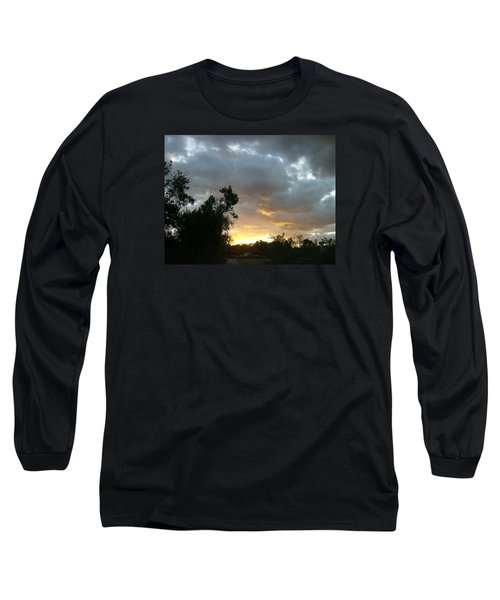 Long Sleeve T-Shirt featuring the photograph At Daybreak by Skyler Tipton