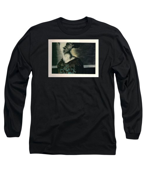 At Her Gaze Long Sleeve T-Shirt