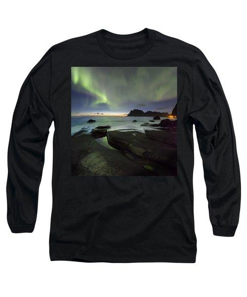 At Night Long Sleeve T-Shirt
